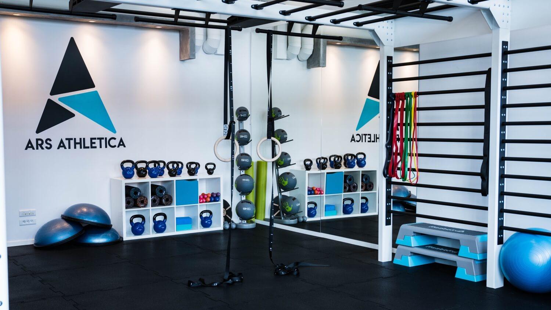 Sala do treningu funkcjonalnego, siłownia