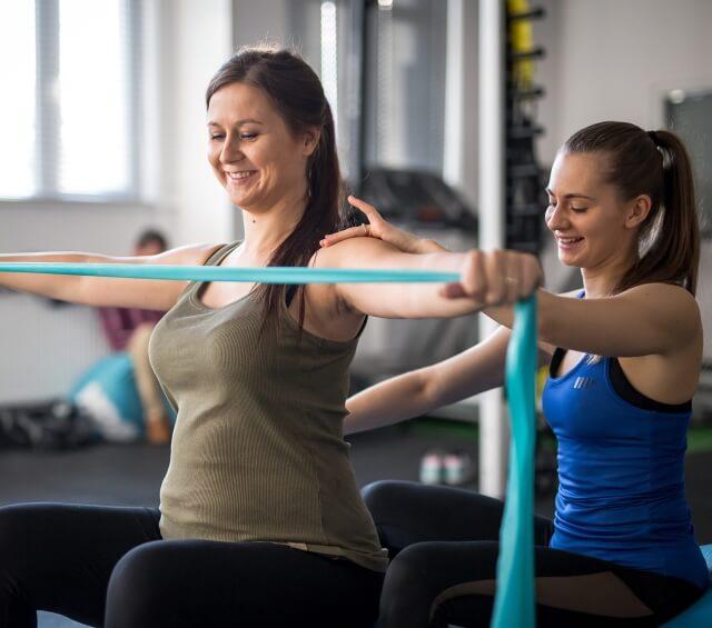 Trening w ciąży, ćwiczenia w ciąży, fizjoterapia w ciąży, rehabilitacja w ciąży