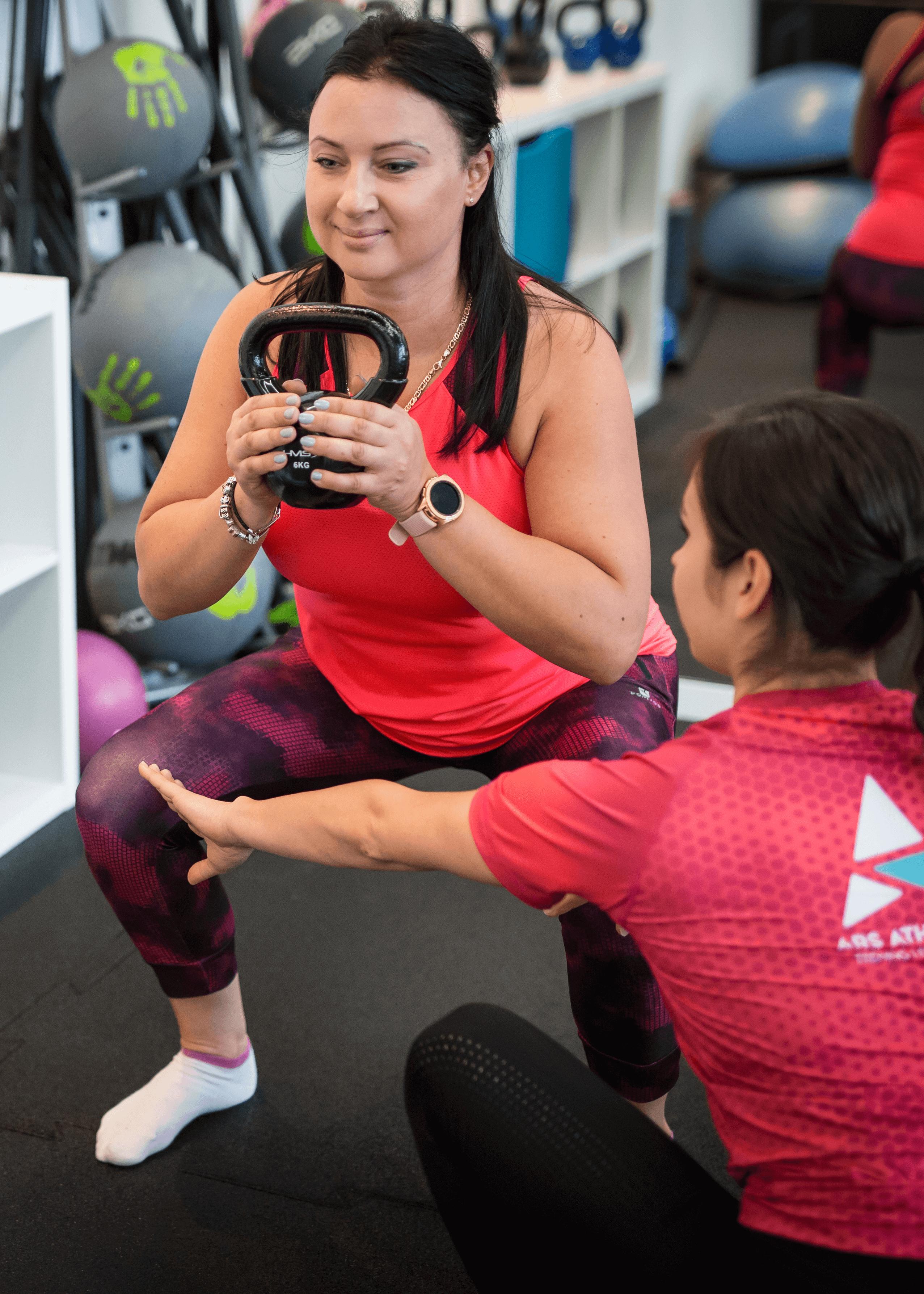trening personalny kobiety