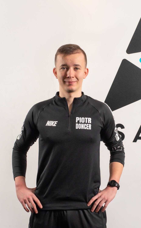 Piotr Doncer trener przygotowania motorycznego
